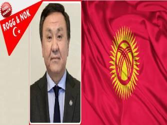 """Kırgız Cumhuriyeti Ankara Büyükelçisi Kubaychbek OMURALIEV Faşist saldırılara karşı kazanılan """"Zafer Günü, 9 Mayıs günü Büyük Zafer'in 75. yıl dönümüdür."""