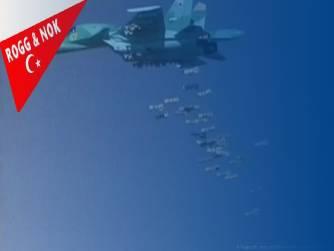 Doğu savaş kolu lideri Rus uçakları Türkiye destekli savaşçıları hedef aldı: 78 ölü olduğu haberlerde veriliyor...