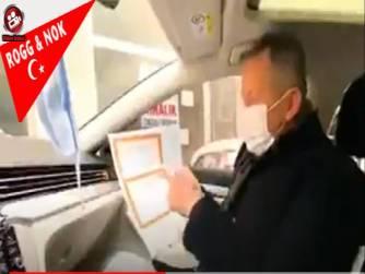 Skandal: AKP'li başkan kapı kapı dolaşıp karne dağıttı!