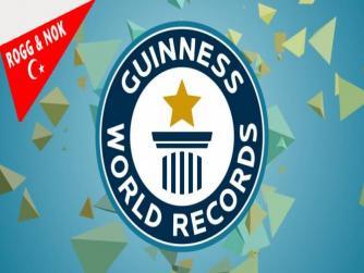 Adaletti Kaldırma Partisi'nin Guinness Dünya Rekorları Kitabına girecek performansı...