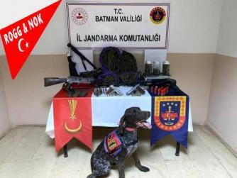 Batman'da yapılan operasyonda uyuşturucu ve silah ele geçirildi 10.09.2021